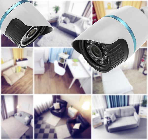 SafeTech security camera views graphic